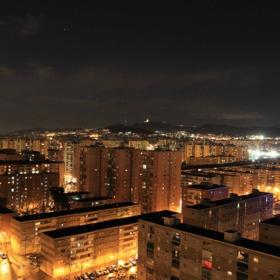 Foto vistes nit des de terrassa