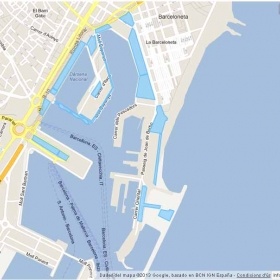 Spaces managed by Port Vell