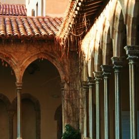 Claustre del Monestir de Sant Joan de les Abadesses