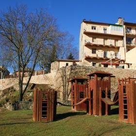 Zona d'esbarjo de Sant Joan de les Abadesses