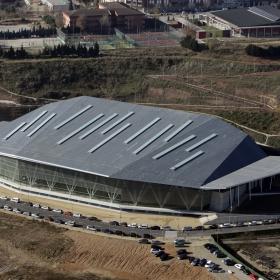 Pista Coberta d'Atletisme de Sabadell - Exterior