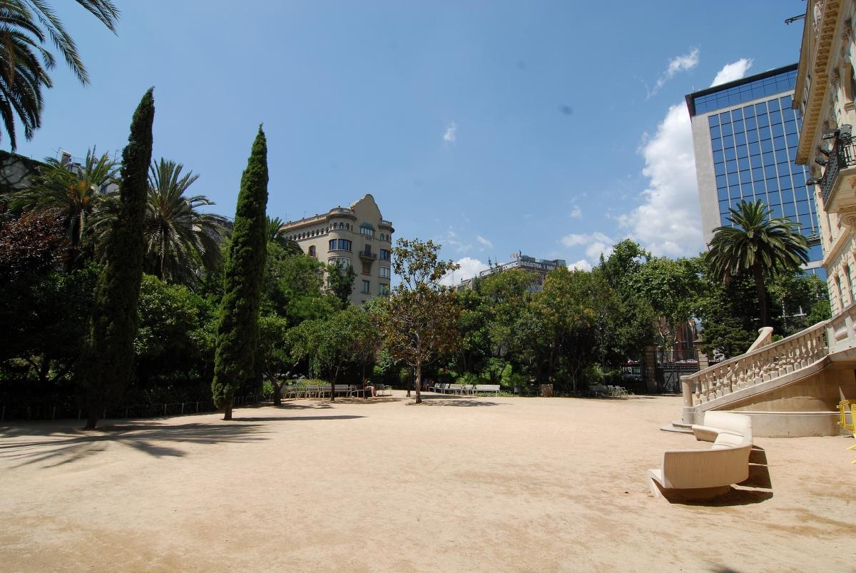 Jardines del palau robert barcelona film commission - Jardins del palau ...