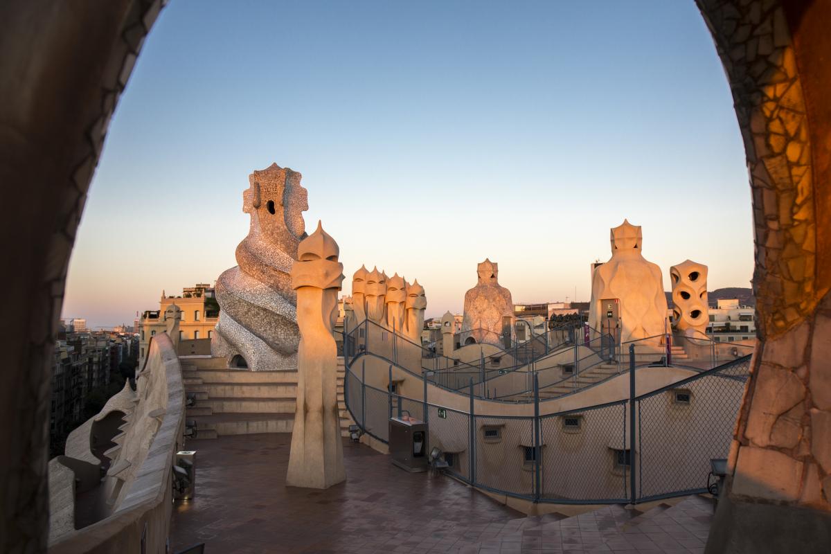 La Pedrera Casa Milà Barcelona Film Commission