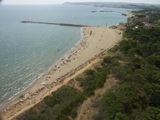 Platja del Moll Grec de Sant Martí d'Empúries