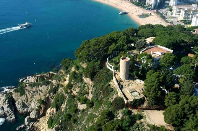 Trento Castle Lloret de Mar