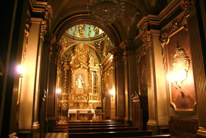Interior del Monestir de Sant Joan de les Abadesses
