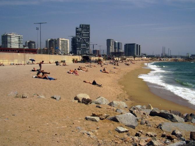Playa de la Nova Mar Bella  Barcelona Film Commission